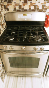 Gas stove GE~~ MUST GO!~~