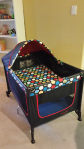 BABY- Everything you Need! Folding Bed/Booster Seat/Toys etc