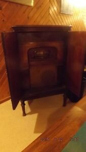 Antique Radio with Record Player