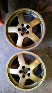 4 roue / mag 5X100