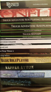 Stack of D&D/RPG books