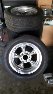 MAGNESIUM KEYSTONE STYLE RIMS AND NEW TIRES FROM CHEVY S10