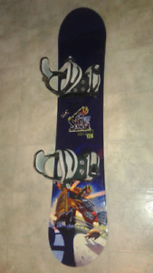 Kids sims pro snowboard size 125 mint condition