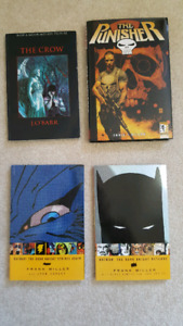 Graphic Novels / comics Punisher The Crow Batman