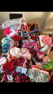Baby girl clothes  sizes range from newborn to 12 Months
