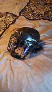 Itech small kids hockey helmet with full cage
