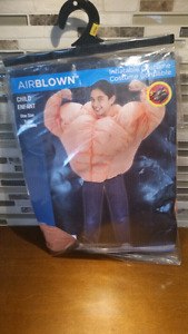 Airblown Chid inflatable Muscles Costume