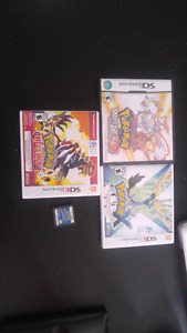 Pokemon DS collection