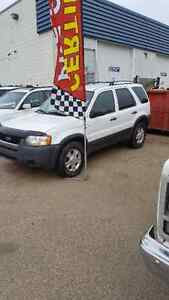 2004 Ford Escape XLT AWD SUV low Kms and clean SALE $4650
