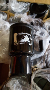 Cs/36 New 500ml 17 oz Travel Mugs Black DA5569