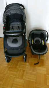 Safety 1st Step and Go 2 Travel System (with stroller cover)