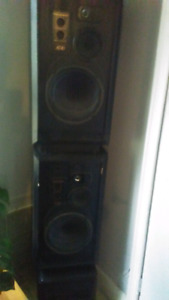 Speakers 12 inch subs 100watts rms