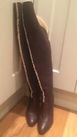 Brand New Miss Sixty Over The Knee Boots