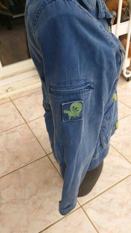 Veste en jean adidas taille 38