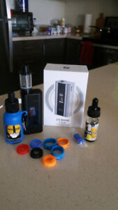 ECIG / VAPE KIT $120 OBO - BARELY USED - EXCELLENT CONDITION