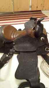 Western Tack for sale -saddle, pads, head stalls Cornwall Ontario image 1
