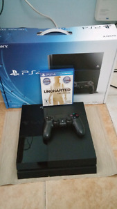 PS4 1 manette + 1 jeux 260$
