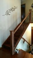 INTERIOR RAILING AND STAIR SPECIALIST SPECIAL OFFER.