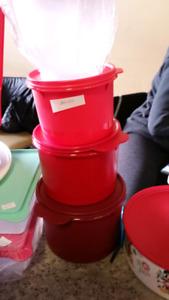 3 tier brand new Tupperware bins
