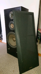 Tower speaker - no cables