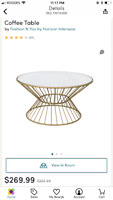 ROUND COFFEE TABLE FOR SALE