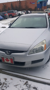Honda accord 2003 coupe low kms