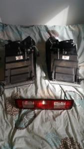 dodge 2012  3500 headlights & 3rd brake.