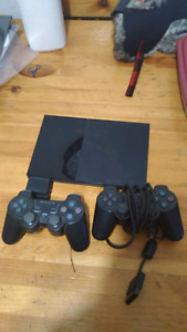 Modded Slim PS2 + controllers and memory card