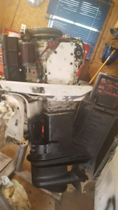 1980 johnson 70 hp outboars w/tilt .  parting out