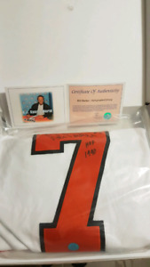 Authenticated Bill Barber signed Jersey