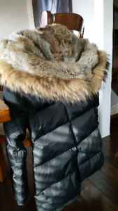 pajar cougar parka real fur hood and trim