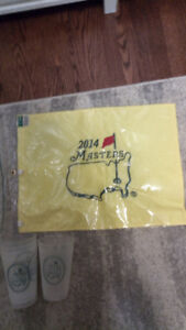 Masters Golf Tournament Souvenirs Masters 2014 flag