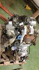 Parting out  6.4L Powerstroke Engine 6.4 Twin Turbo Engine