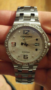 Concord diamond watch