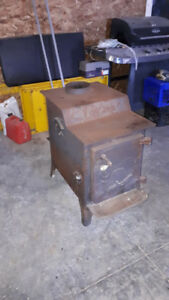 Wood Stove with forced air electric fan!