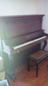 Piano antique  Kingston 1862