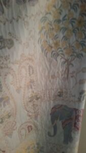 Curtains and elephants
