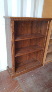Antique Book cabinet with adjustable shelves
