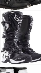 ISO Adult size 10 dirt bike boots and apparel