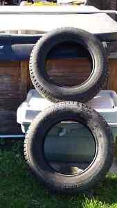 2 snow tires off Honda civic London Ontario image 2