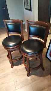 "2 Quality Counter height 24 "" floor to seat bar stools"