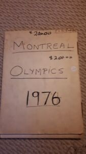 1976 Montreal Olympics hardcover book -Bruce Jenner &  more