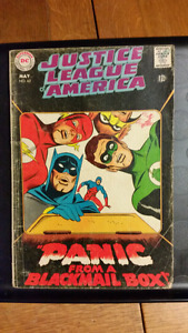 COMIC BOOKS- Justice League of America # 62 May 1968