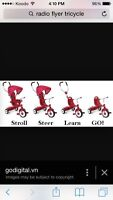 Radio Flyer 4-in-1 Tricycle for sale