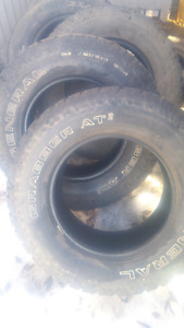 4@LT265/65R17 for sale