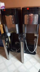 Stainless steel, Self-cleaning bottom loader water coolers