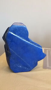 Display Piece of Lapis Lazuli