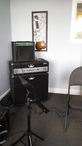 Stagg bass head and cabinet for sale