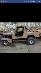 I'm interested in old jeeps that are taking up space. Amc cj fsj
