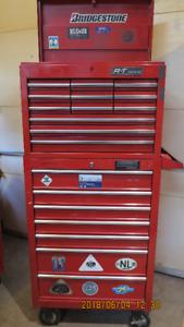 coffre a outils base + tete 27 pouces   19 tiroirs